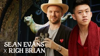 Sean Evans Interviews Rich Brian in a Castle