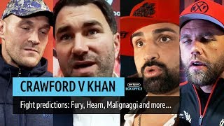 Crawford or Khan? Final predictions from boxing experts... - YouTube