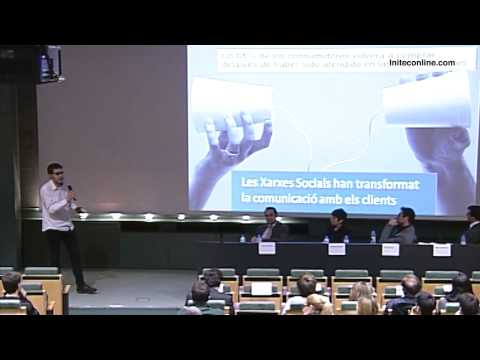 Conferència d'INITEC: 'Xarxes Socials, oci o negoci?'