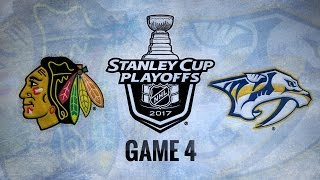 Preds complete sweep of Hawks with 4-1 victory
