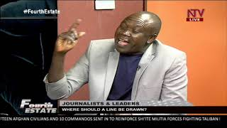FOURTH ESTATE: Where should a line be drawn when interviewing the president as a journalist?