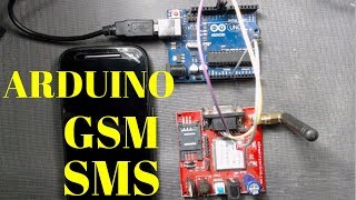 GSM WITH ARDUINO - AT Commands Step by Step - Smoke