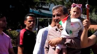 فرحة المواطنين في غزة بعد إعلان المصالحة الفلسطينية -