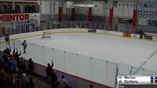 Mentor Ice Breakers vs. Danbury Hat Tricks 12-26-19