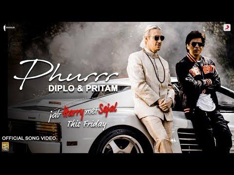 Diplo & Pritam - PHURRR - Official Video -  Jab Harry Met Sejal - Shah Rukh - Anushka