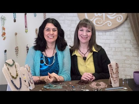 Artbeads Cafe - Designing with Drops featuring Cynthia Kimura and Cheri Carlson