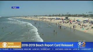 Cabrillo Beach, Las Tunas County Beach Tops In Los Angeles County