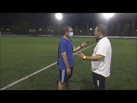 JUAN GONZÁLEZ (Entrenador Épila) CD Caspe 2-1 CF Épila / Partido Amistoso