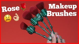ROSE MAKEUP BRUSHES… Are They Jeffree Star Approved?