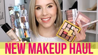 NEW Makeup HAUL | Maybelline, CoverGirl, L'Oréal, Urban Decay, Grande Cosmetics, Lancôme