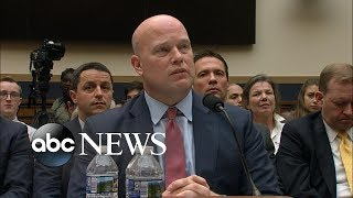 House Democrats grill Acting Attorney General Matthew Whitaker