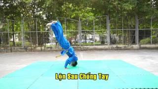 Kỹ Thuật Té Ngã Căn Bản - Vovinam Việt Võ Đạo (Basic technique :Acrobatic, Falling and Rolling)
