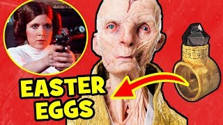 Star Wars The Last Jedi EASTER EGGS & Crucial Details