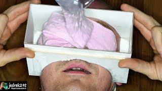 Face in Epoxy Resin. DIY  Face Cast / ART RESIN