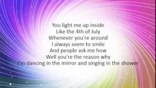 Shower - Becky G (Lyrics)