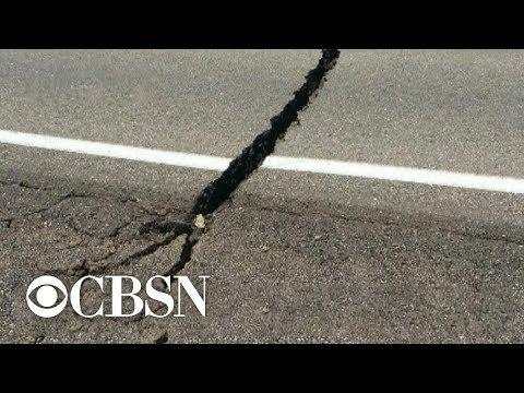 5.4 magnitude aftershock hits California's Mojave Desert following major earthquake