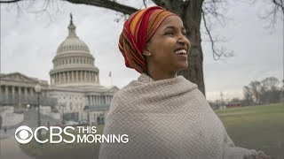 "Rep. Ilhan Omar of Minnesota makes history, says U.S. ""could do better"""