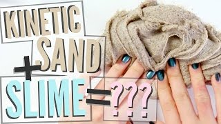 Mixing Random Things Into Slime! (Kinetic Sand, Glycerin