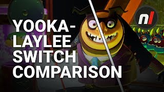 Yooka-Laylee Nintendo Switch / Xbox One Graphical Comparison