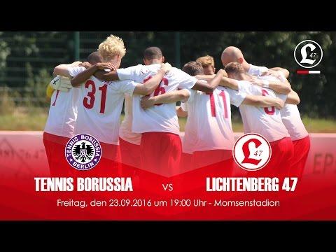 Tennis Borussia Berlin - SV Lichtenberg 47 (NOFV-Oberliga Nord) - Spielszenen | SPREEKICK.TV