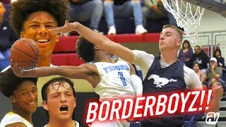 Mikey Williams Squad Got A New SHOOTER! BORDERBOYZ Fall League Game 2 VS Otay Ranch FULL HIGHLIGHTS