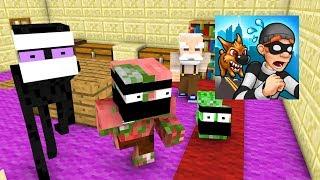 Monster School : ROBBERY BOB CHALLENGE - Minecraft Animation