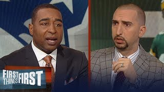 Cris and Nick break down possible fit for Packers' next head coach   NFL   FIRST THINGS FIRST
