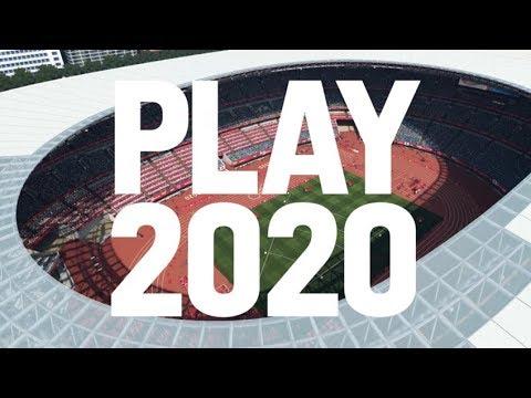 2020东京奥运会官方游戏 概念宣传片