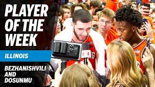 Highlights: Illinois Freshmen Sweep Weekly Big Ten Honors | Big Ten Basketball