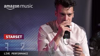Starset Performs 'My Demons' Live for Amazon Front Row | Amazon Music