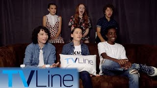 Strangers Things Cast Interview | Comic-Con 2017 | TVLine
