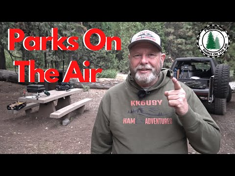 Parks On The Air ( POTA ) and First time using HAMRS ! K4469