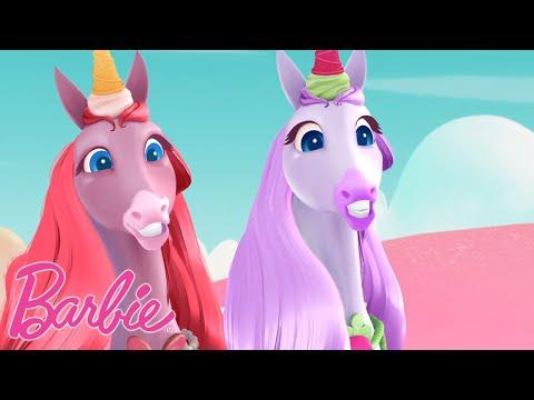 Trefft die Eishörner aus Barbie Dreamtopia | Barbie Dreamtopia | Barbie Videos für Kinder