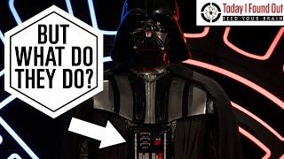 What Do the Buttons on Darth Vaders Suit Do?