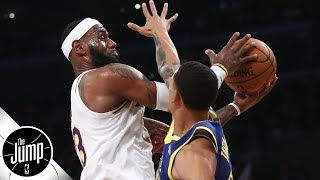 LeBron James' best no-look passes of his career | The Jump