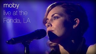 Moby - The Last Day feat. Skylar Grey (Live at The Fonda, L.A.)