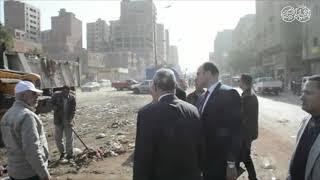 أخبار اليوم | محافظ القليوبية يتفقد مدينة شبرا الخيمة ويكلف ...