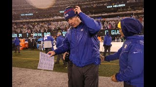 WATCH: Giants fire coach Pat Shurmur, here's how the day went down