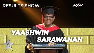 YAASHWIN SARAWANAN Punishes Alan - Results Show | Asia's Got Talent 2019 on AXN Asia