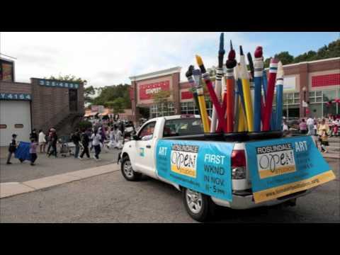 Roslindale Open Studios in the Roslindale Parade 2011
