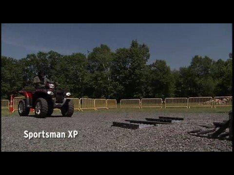 Polaris 850 Shootout VRS CanAm OutLander 800