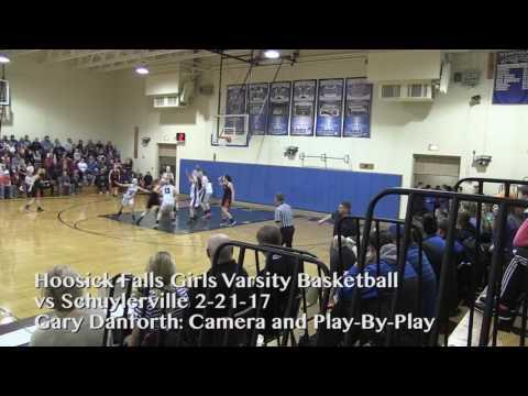 Hoosick Falls Girls Basketball - 2/21/17