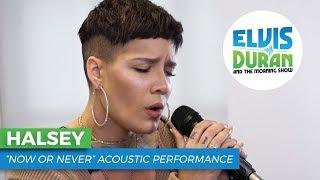 "Halsey - ""Now or Never""   Elvis Duran Live"