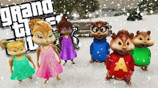ALVIN AND THE CHIPMUNKS MOD w/ THE CHIPETTES (GTA 5 PC Mods Gameplay)