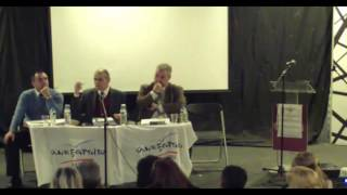 Εκδήλωση Συντονιστικής Ν. Σμύρνης - Ομιλία Γιώργου Ρωμανιά