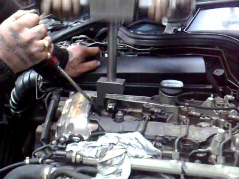 Mercedes W211 Injector Removal Youtube