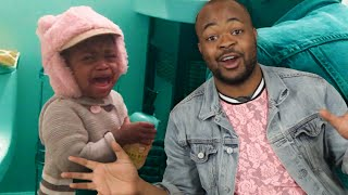 Baby Hater Becomes A Dad For Day