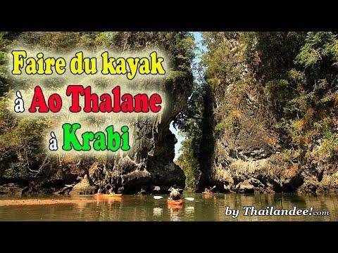 faire du kayak à ao tahlane