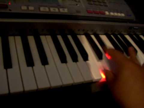 el moño colarado teclado