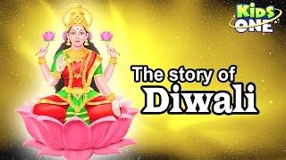 The Story of Diwali | Festival of Lights Cartoon Animation